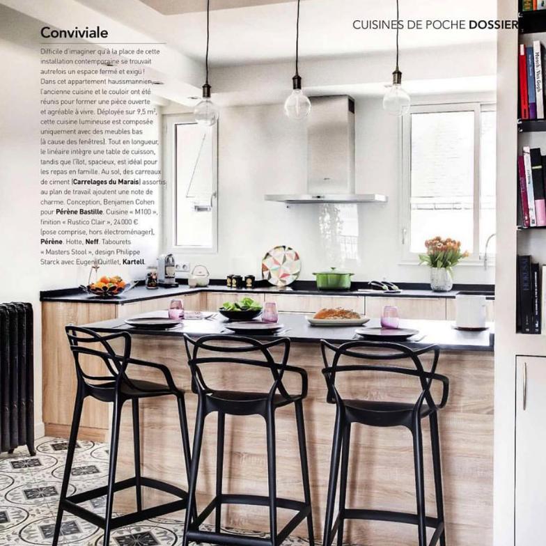 Cuisines design haut de gamme_Paul et benjamin_Art&Décoration_Juin 2016