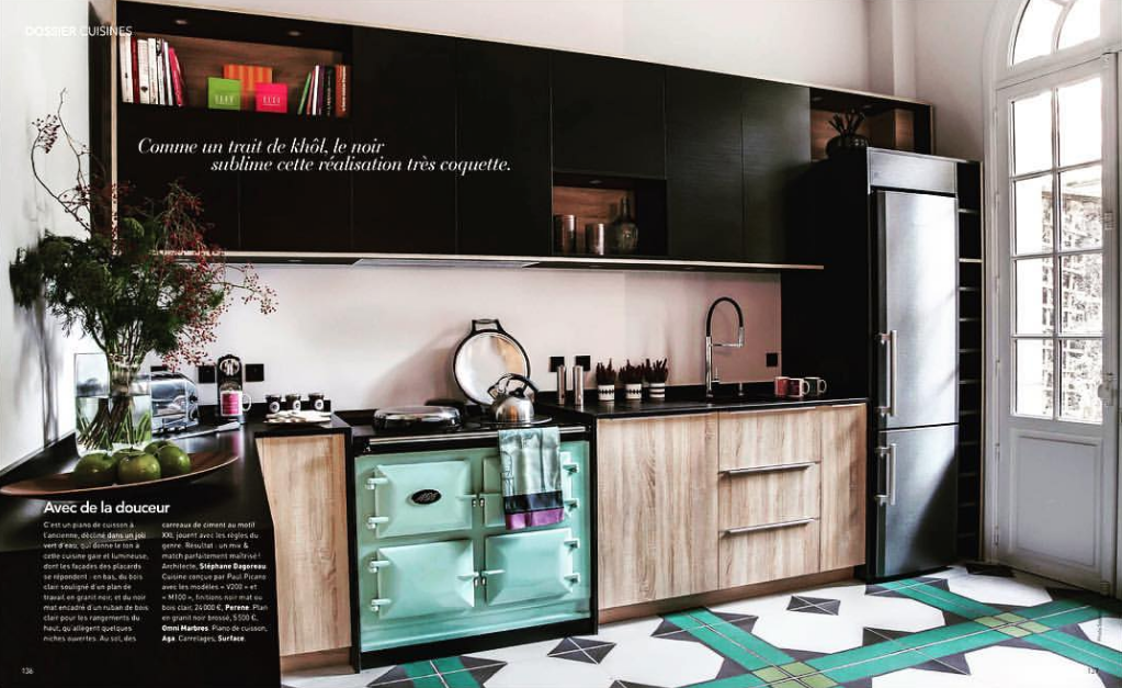 Cuisines design haut de gamme_Paul et benjamin_article Art&Décoration_Mars 2016
