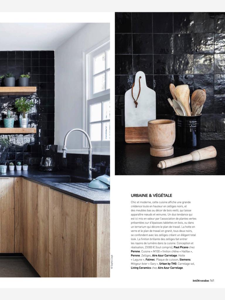 Cuisines design haut de gamme_Paul et benjamin_Art&Décoration_Mars 2017